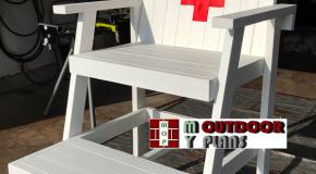 Backyard Lifeguard Chair – DIY Project