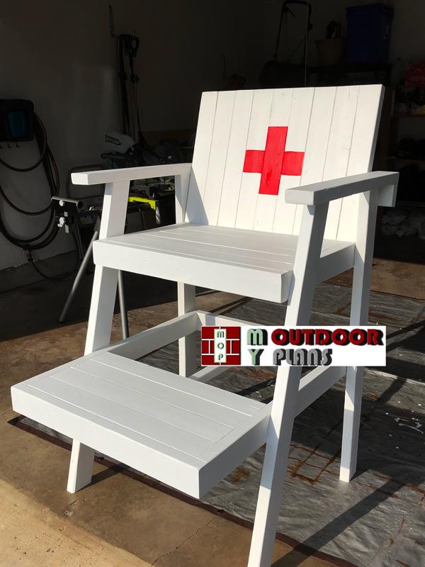 Backyard Lifeguard Chair - DIY Project