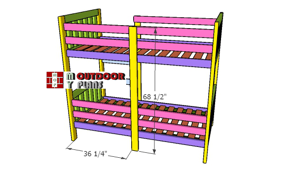 Fitting-the-ladder-support