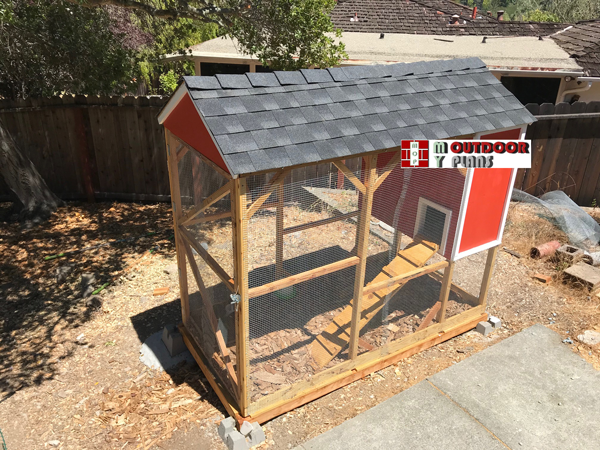 4x8 Chicken Coop with Run - DIY Project