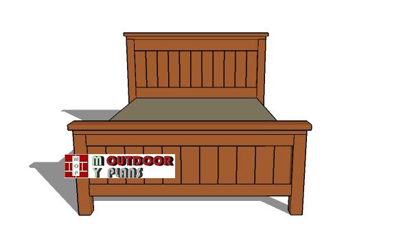 Queen-size-bed-plans---farmhouse-design
