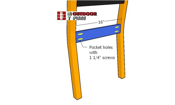 Seat-frame-for-backrest