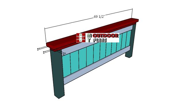 Top-trim-footboard