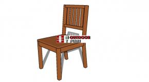 Wood Chair Plans – PDF Download