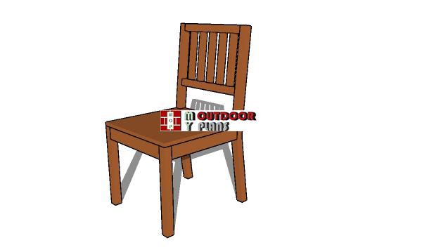 Wood Chair Plans - PDF Download