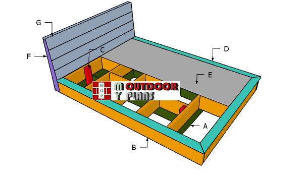 Building-a-platform-bed---queen-size