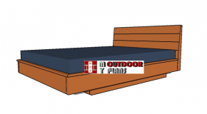 Queen Size Floating Bed Plans