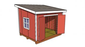10×12 Lean to Shed Plans – PDF Download