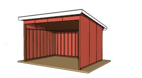 12×16 Run in Shed Plans – PDF Download