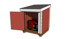 4×4 Generator Shed Plans – PDF Download