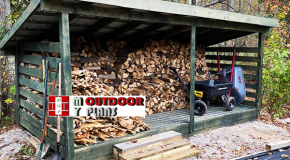 DIY Project – 8×16 Firewood Shed