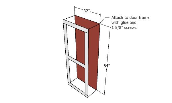 Assembling the side door