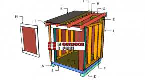 4×4 Generator Roof Plans