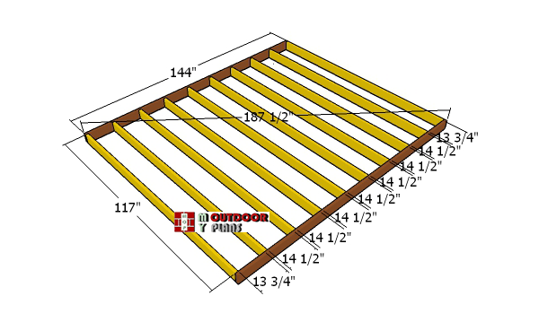 Building-a-shed-floor---10x12