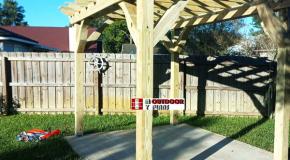 DIY Project – 8×10 Free Standing Pergola