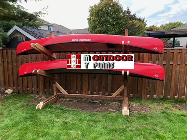 DIY Project - 16 ft Kayak Rack