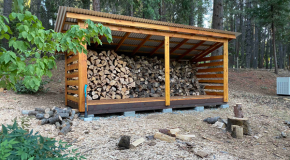 DIY Project – 6×16 Firewood Shed