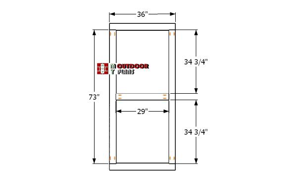 Shed-door-frame