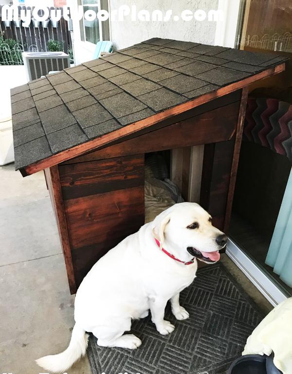 dog house plans for large dog   myoutdoorplans   free woodworking