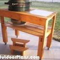 Xl Big Green Egg Table Plans Myoutdoorplans Free