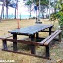 picnic table plans detached benches pdf
